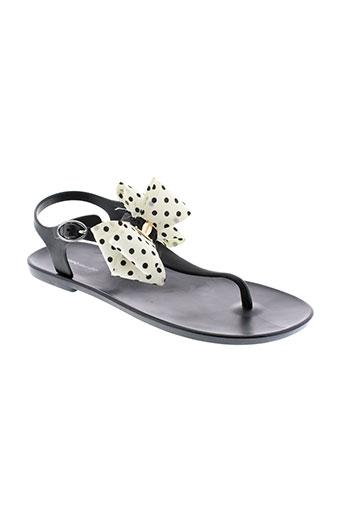 gioseppo sandales et nu et pieds femme de couleur noir