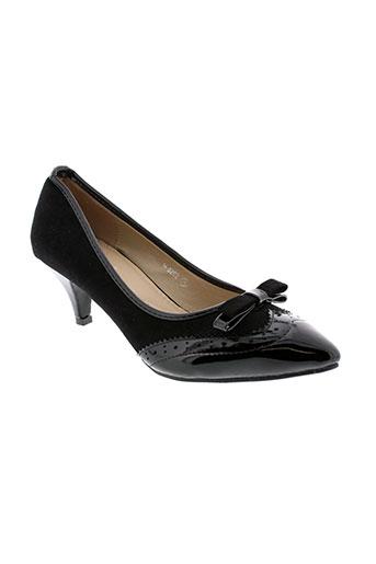 ideal et shoes escarpins femme de couleur noir