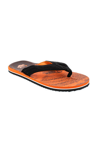 brazilia tongs homme de couleur orange