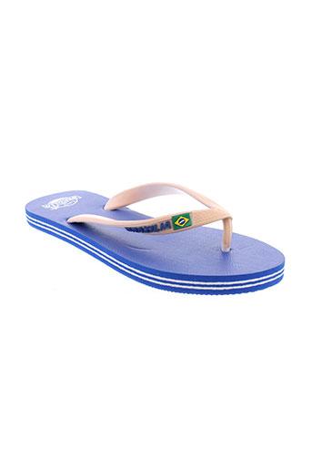 brazilia chaussures homme de couleur bleu