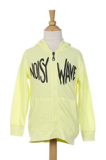 benetton vestes garcon de couleur jaune