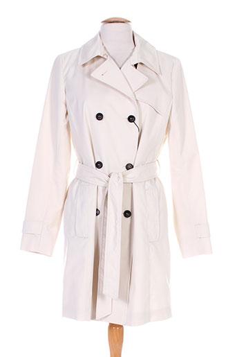 marella manteaux femme de couleur beige