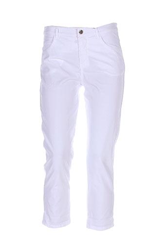 diplodocus pantacourts femme de couleur blanc