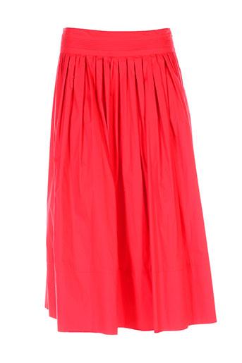 marella jupes femme de couleur rouge