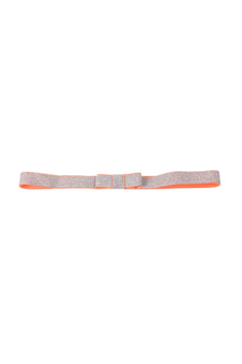 Ceinture orange BENETTON pour fille