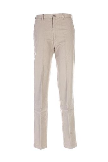 henry et cotton et s pantalons et decontractes homme de couleur beige