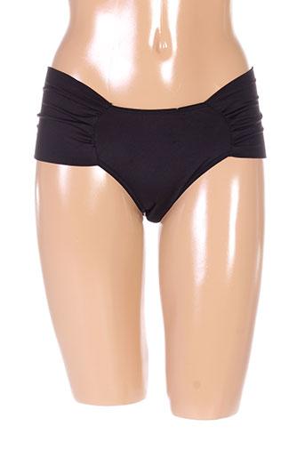 2 et rios slips et culottes femme de couleur noir (photo)