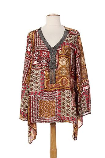 jessie EFFI_CHAR_1 vanessa tuniques femme de couleur marron