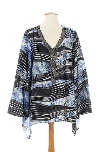jessie EFFI_CHAR_1 vanessa tuniques femme de couleur bleu