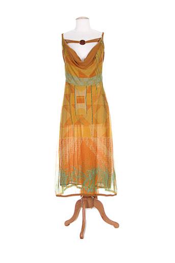 legatte robes femme de couleur jaune