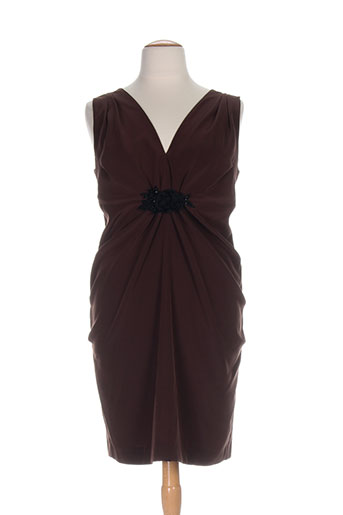clairmodel robes femme de couleur marron