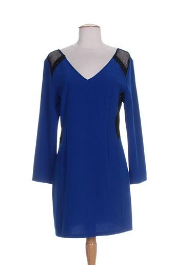 just addict robes femme de couleur bleu