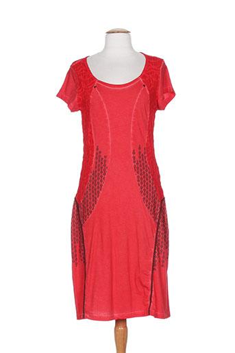 angel never die robes femme de couleur rouge