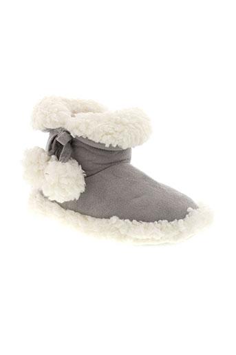 les et bebes et de et sabine chaussons fille de couleur gris