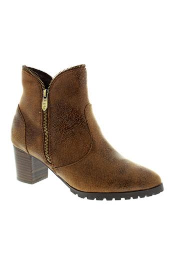 les et p et tites et bombes boots femme de couleur marron