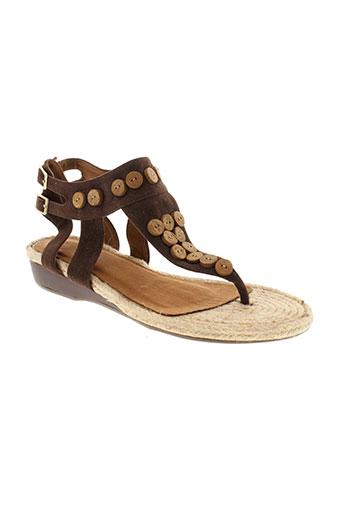 best et mountain sandales et nu et pieds femme de couleur marron
