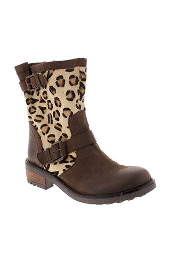 best et mountain boots femme de couleur marron