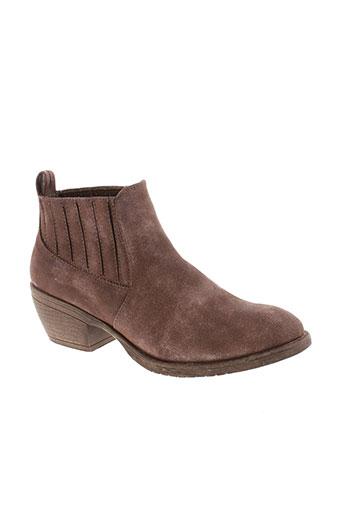 lolablue boots femme de couleur marron