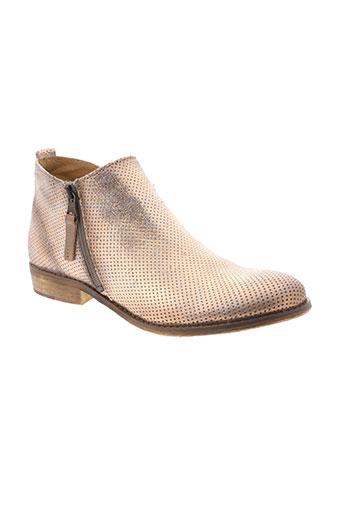 mustang boots femme de couleur beige