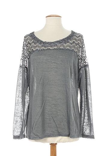 dayana chemises femme de couleur gris