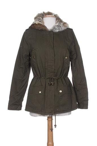 best et mountain manteaux et courts femme de couleur vert
