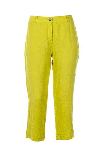 d.sport pantacourts femme de couleur vert