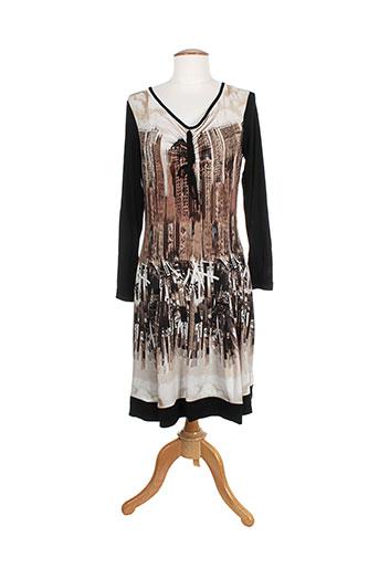 carlopik robes femme de couleur noir