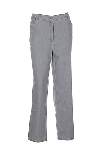 gerke my pants pantalons femme de couleur gris