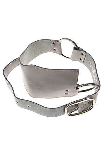 di et cintura ceintures femme de couleur gris