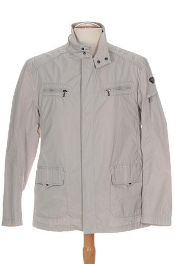 delahaye manteaux homme de couleur gris