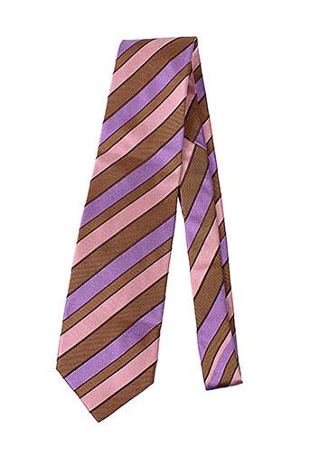 la valiere accessoires homme de couleur violet