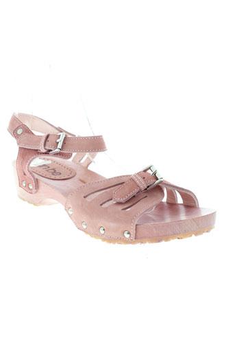 can et be sandales et nu et pieds femme de couleur rose