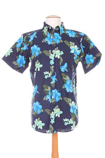 berangere claire chemises homme de couleur bleu