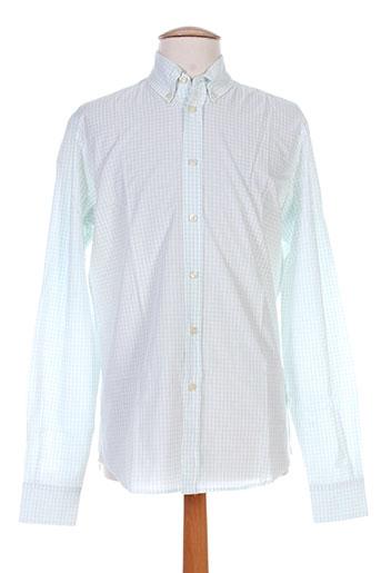 berangere claire chemises homme de couleur blanc