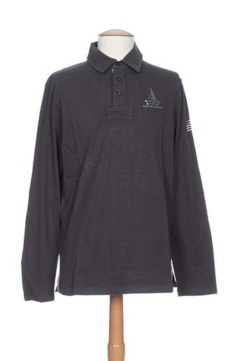 harper&flint t-shirts homme de couleur gris