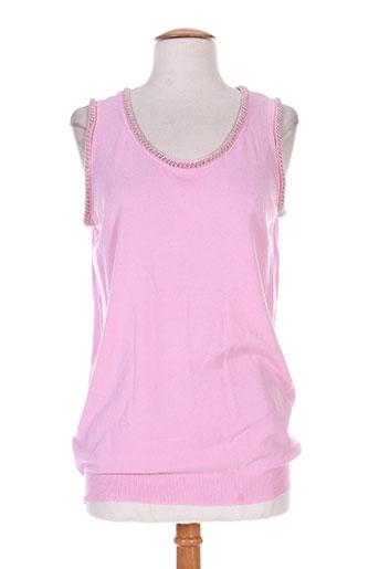 cherry t-shirts femme de couleur rose