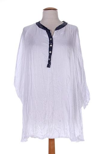define t-shirts femme de couleur blanc