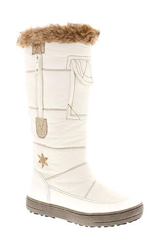 tamaris bottes femme de couleur blanc