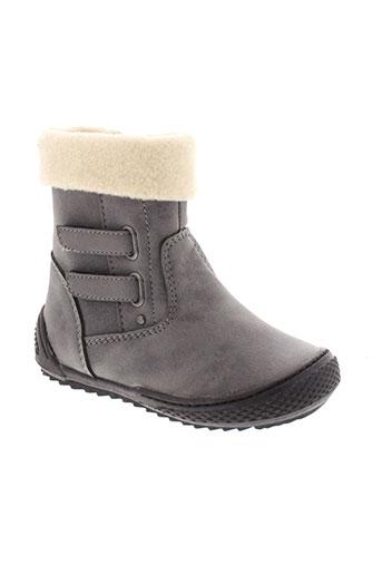 wipop boots garcon de couleur gris