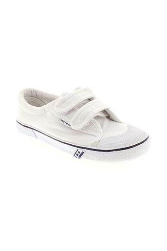 rucanor baskets fille de couleur blanc