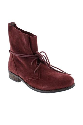 metamorf et ose boots femme de couleur violet