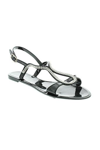 lovett sandales et nu et pieds femme de couleur noir