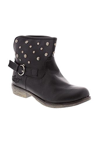jet et 7 boots femme de couleur noir