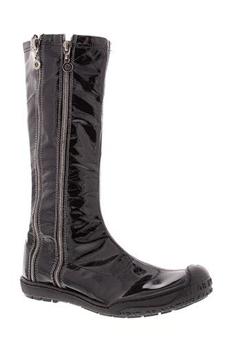 essentiels bottes femme de couleur noir