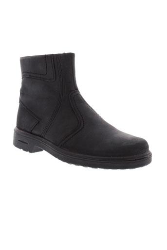 moran et s boots homme de couleur noir