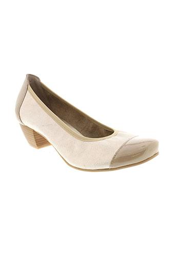 santafe chaussures femme de couleur marron