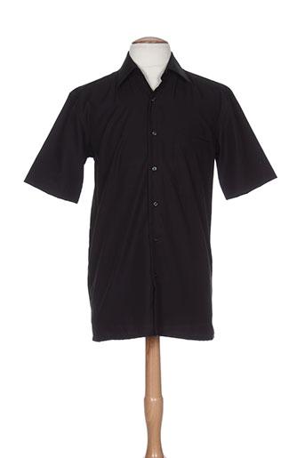 horizon chemises homme de couleur noir
