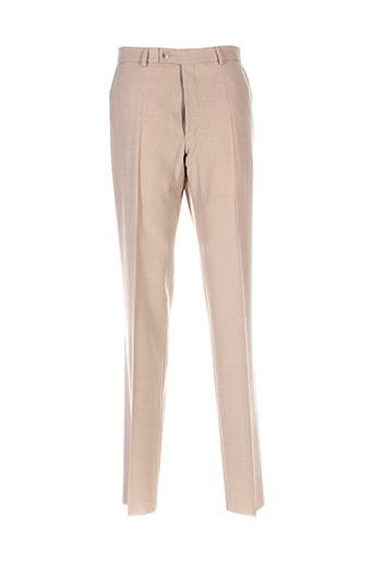 optimal pantalons et citadins homme de couleur beige