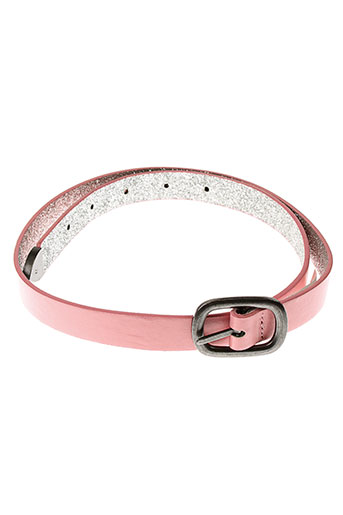 3 et pommes ceintures fille de couleur rose (photo)