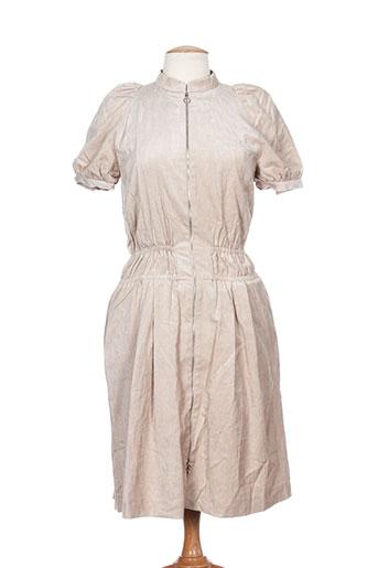 Robe mi-longue beige BAUM UND PFERDGARTEN pour femme